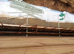 frp threaded rods for formwork