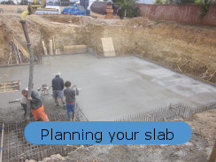 planning your basement floor slab and sump