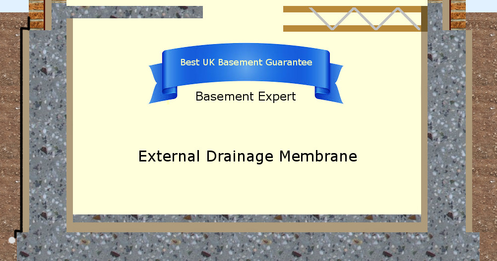 self build waterproof basement formwork membrane concrete drainage